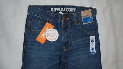 NEW Boys Size 6 HUSKY Gymboree Jeans Straight Fit Adjustable Waist $29 NWT