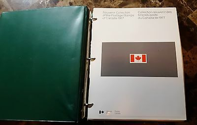 Canada Collection of Annual Postage Stamp Collections 1977-78-79-80-81