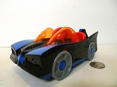Fisher-Price Imaginext Batmobile with Lights Works Tested !!!