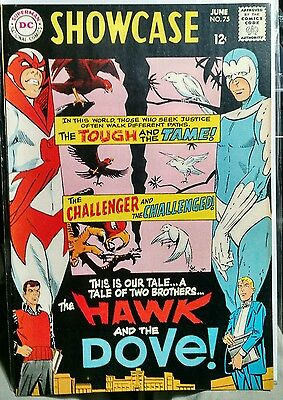 Showcase 75 NM- 1968 DC 1st Appearance of Hawk & Dove Steve Ditko