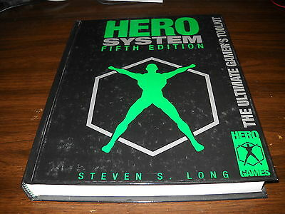 Hero Games: Hero System Fifth Edition Hardcover Rulebook