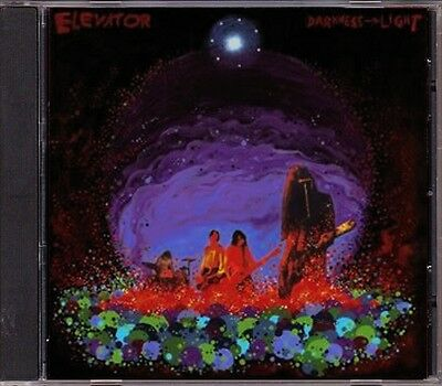 Elevator - Darkness -> Light  MEGA RARE! OOP Original Canadian Psych CD (New!)