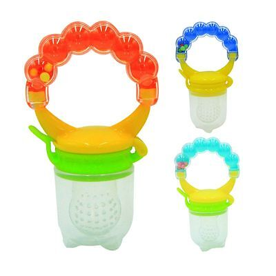 Feeding Pacifier Infant Baby Fresh Fruit Food Feeder Dummy Soother Bite Nipple