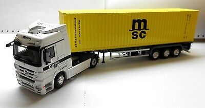 1/50 Container Trailer model - msc