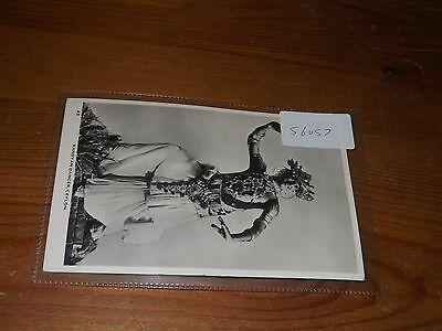 Old CEYLON  postcard our ref #56057 KANDYAN DANCER RP