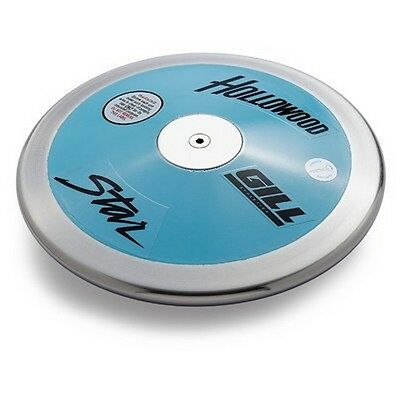 Gill Athletics 313 Hollywood Star Discus- 1kg NEW