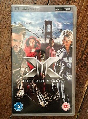 X-Men - The Last Stand (UMD, 2008) PSP MOVIE. HALLE BERRY, WATCHED ONCE.
