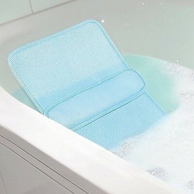 Home Spa Bath Lumbar Cushion - Custom Back Comfort Relaxation In The Tub by NEW