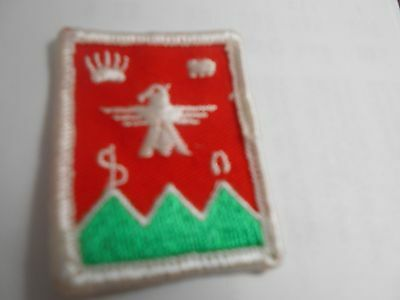 (Pv2-R) Six Silk Manitoba Scout Badges