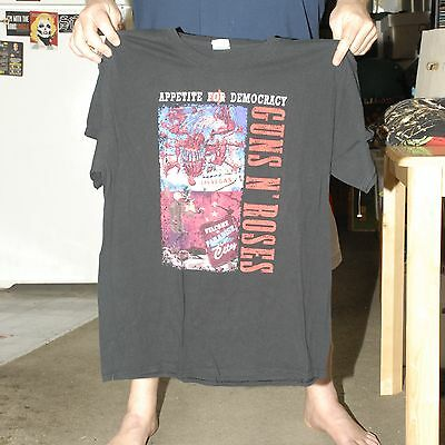 Guns N Roses Live At The Joint Concert T Shirt Rare One Off Event Las Vegas Lrg