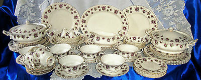 Royal Albert SWEET VIOLETS Dinner Service Pieces Individually Sold