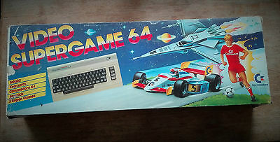 Commodore C64 Video Supergame 64 Boxed OVP Vintage Game