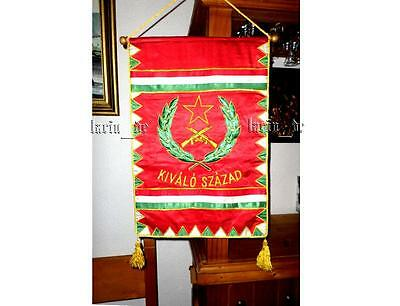 Communist Hungary army flag Ungarn Armee Fahne mit Roter Stern Kalaschnikow HK
