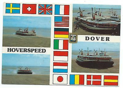 "KENT / HOVERCRAFT - HOVERSEED DOVER 1983 Multi-View 6"" x 4"" Postcard"