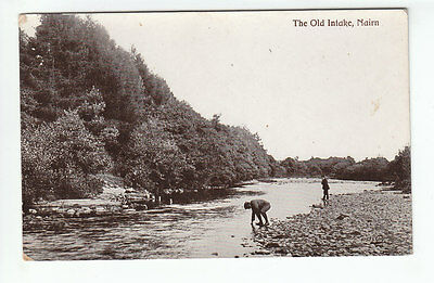 The Old Intake Nairn Photo Taken 1911 Card Published 1921 Message Aug 1944