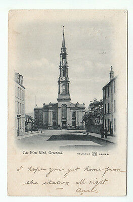 The West Kirk Greenock Renfrew 11 Oct 1903 Munro Corso Street Dundee WR&S