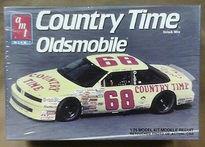 old AMT NASCAR model # 68 Country Times Oldsmobile Hamiton 6819