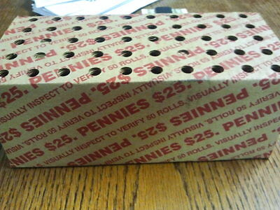 Unopened Cape Cod Box Of Unsearched Pennies. May Be Some Copper,wheats,errors