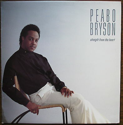 PEABO BRYSON - Straight From The Heart - LP (1984) ELEKTRA RECORDS / 60362-1