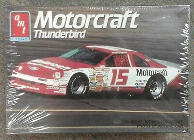 old AMT NASCAR model # 15 Motorcraft Thunderbird Morgan Shepard 6730