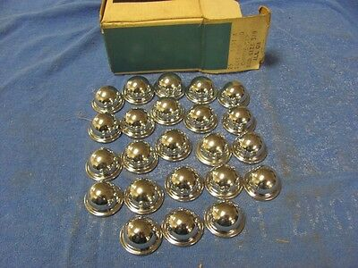 NEW Lot of (23) Bucket Seat Rod End Caps 61 62 63 64 65 5831A GM Chevy