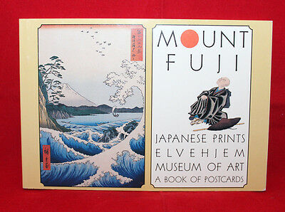 Mount Fuji Japanese Prints Chazen Elvehjem Museum Of Art 30 Oversized Postcards