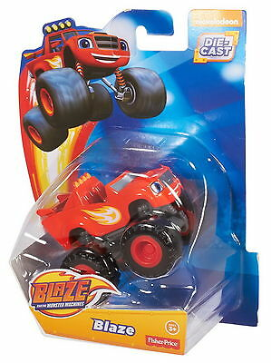 """Fisher-Price Blaze and the Monster Machines 3"""" Die-Cast Vehicle - Blaze"""