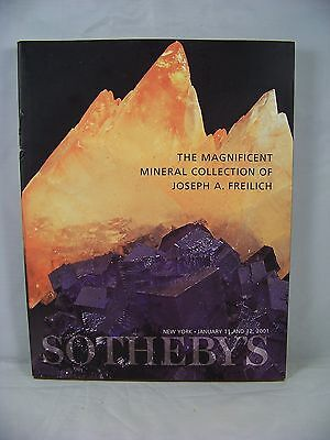 The Magnificent Mineral Collection Of Joseph A. Freilich Sotheby's Catalog 2001