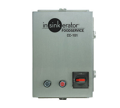 In-Sink-Erator CC101K-8 Control Center Automatic Reverse 3-ph Disposer