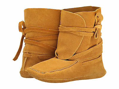 New Womens Manitobah Mukluks Scout Moccasin Size 9 Color Tan