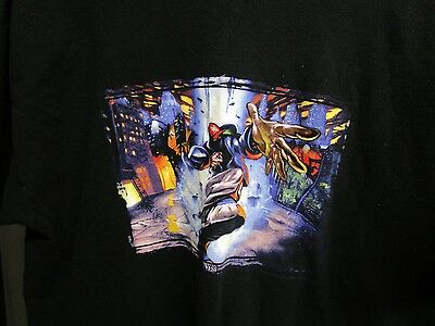 limp bizkit vtg. size large original tour shirt 1990's authentic rock music