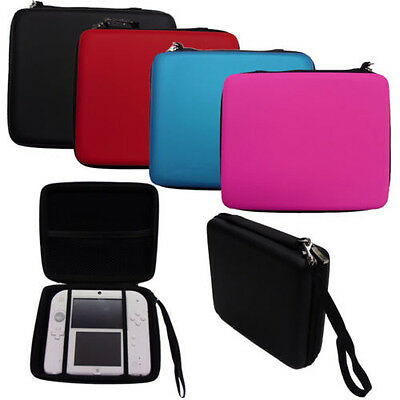4 Colors Nintendo 2DS Hard Protective Carry Storage Cases Cover With Zip + Strap