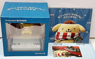 Sanrio Pom Pom Purin X MTR Hong Kong Paper Clip Holder With Ticket