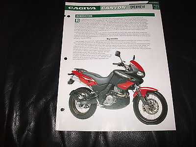 CAGIVA CANYON overview from essential superbikes