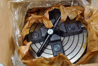 Independant 4 Jaw Chuck for metal Lathe unused and still in original packaging