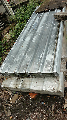 10ft galvanised box section sheets