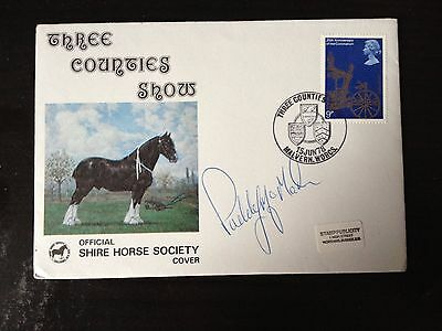 Paddy Mcmahon - Former British Show Jumper  - Signed F.d.c.