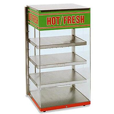Wisco 680-4 Food Warming Merchandiser Display 4 Heated Shelves