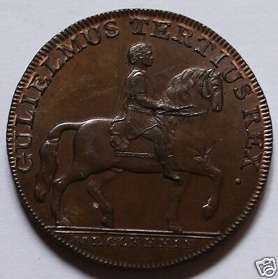 Great Britain 1/2 Penny Token, 1791, circulated, nice copper