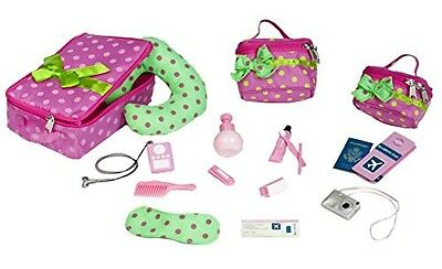 """Our Generation Luggage And Travel Set For 18"""" Dolls (Discontinued by"""