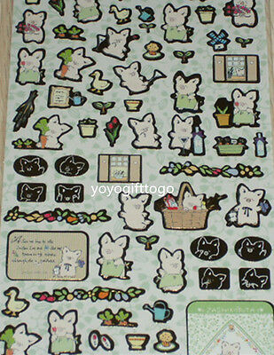 2014 Sanrio Original ZASHIKIBUTA PIG Golden Border stickers Sheet Sticker