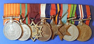 British World War 2 And Nepal Medal Group Nepalese Contingent Lieutenant  Ab0150