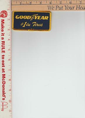 Goodyear #1 in tires NOS patch