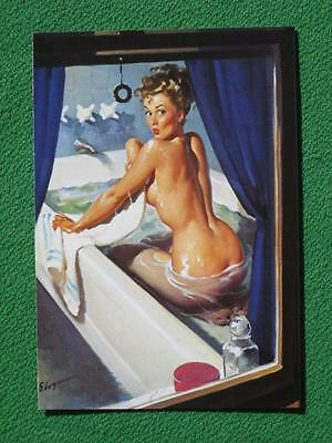 """Postcard Pinup Girl Art by Elvgren """"Jeepers Peepers"""" Taschen 2000 Mint Condition"""