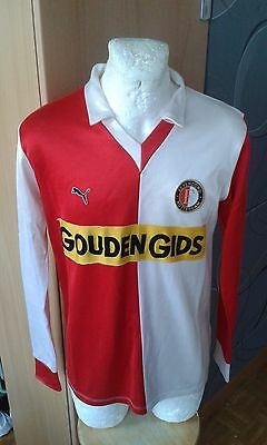 Puma West Germany Feyenoord Netherlands Vintage Shirt Jersey Rare Football