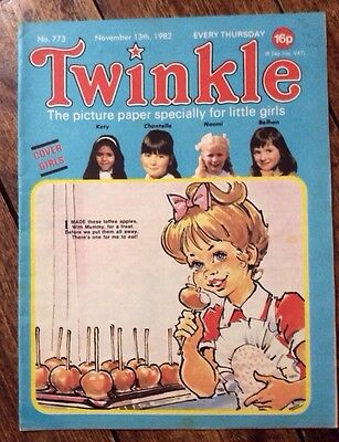 TWINKLE COMIC NO.773 13 NOVEMBER 1982 VFN+ CONDITION. Dress TWINKLE Page.