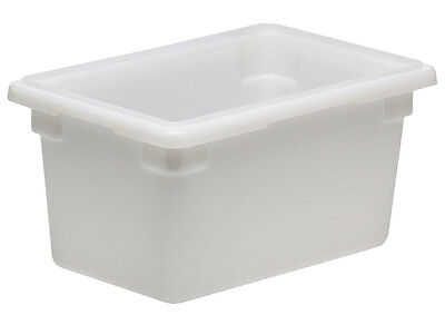Cambro 12189P148 4.75 Gallon 12x18x9 Polyethylene Food Storage Container