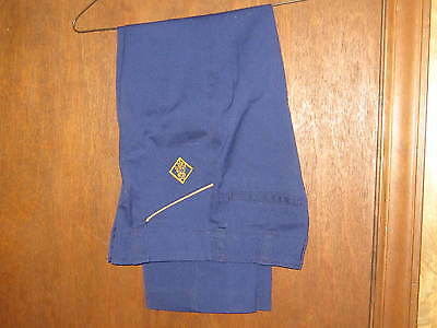 Cub Scout Pants with Yellow Piping, waist 24,  A41