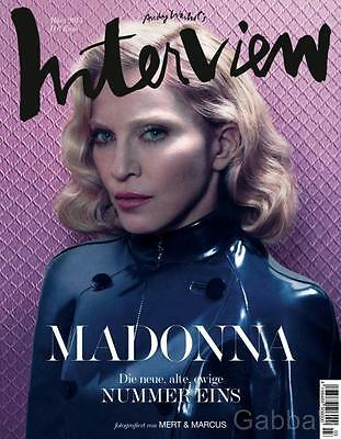 Madonna - Interview Magazine Germany Cover #1  March 2015 + 48 Pages Rebel Heart