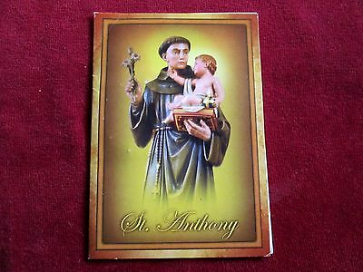 """St. Anthony of Padua & Baby Jesus Relic 3rd Class on Rosary Ring 1 1/2"""" Card 5"""""""